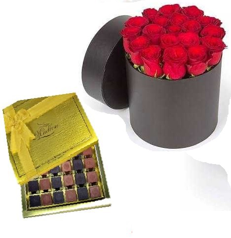 Madlen çikolata Ve Orkide